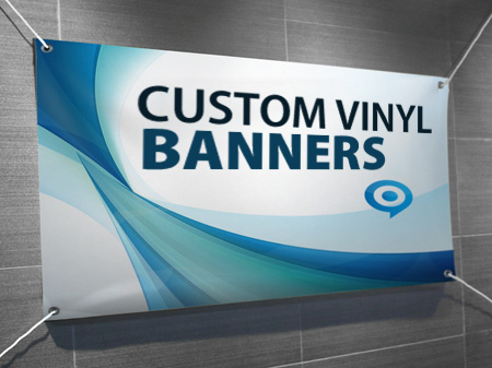 Full Color Vinyl Banners Sharp Banners